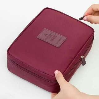 Maroon Travel organizer bag