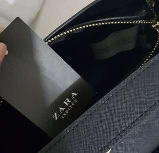 Zara city black bag original