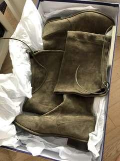 Authentic Stuart Weitzman Lowland Suede Over Knee Boots 9M