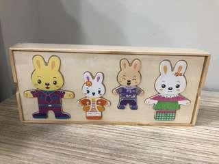 BN matching puzzle for 3 + year old