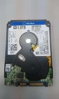 WD 1TB HDD Slim