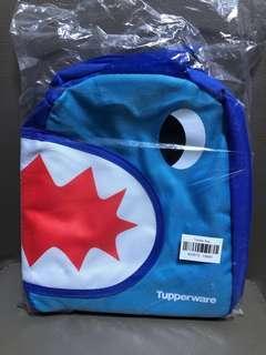 BN Authentic Tupperware shark Lunch Bag