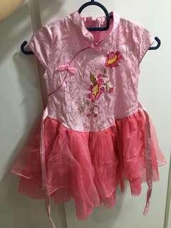Pink Cheongsam for girls #1212
