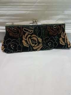Beaded Evening Clutch Bag