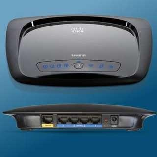 Linksys Cisco Wireless-N Home Broadband Router WRT120N for Home Wi-Fi Network