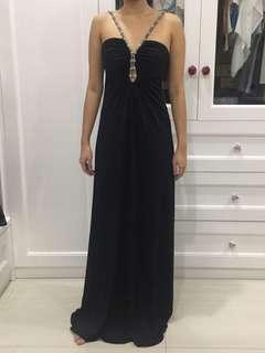 [SALE!!] Long Party Dress Black