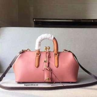 Coach 1941 Kiss Satchel in Colorblock Leather