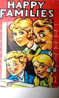 Vintage Clifford Series Happy Family playing card