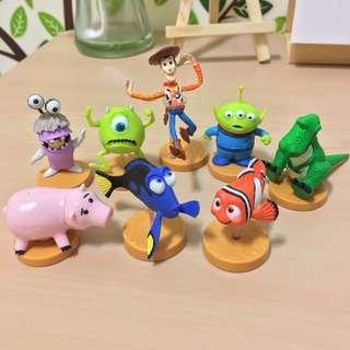 🚚 皮克斯 絕版巧克力蛋 怪獸大學 玩具總動員 毛怪 大眼仔 阿布 胡迪 抱抱龍 三眼怪 尼莫 多莉 現貨