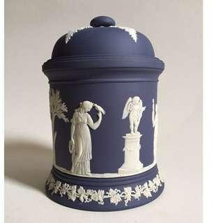 Vintage Wedgwood Jasper Jar