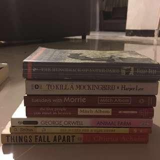 ANY BOOK FOR 100 PHP