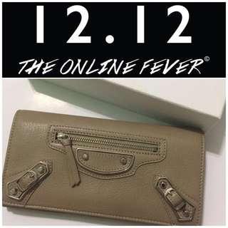 💣#MY1212 New! Authentic Balenciaga Wallet