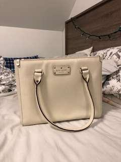 White/Cream Kate Spade Purse