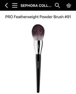 現貨❗️Sephora Collection Pro Powder Brush#91絲芙蘭自營品牌91號蜜粉刷 Catie推薦