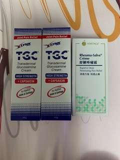 BN TGC Glucosamine Rheuma-Salve creme