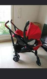 CHICCO Stroller and Baby Carrier