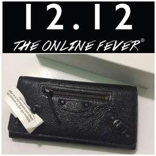 💣#MY1212 New! Authentic Balenciaga Classic Wallet