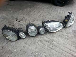 各類 BENZ 大燈