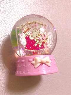 Marron cream 迷你水晶球