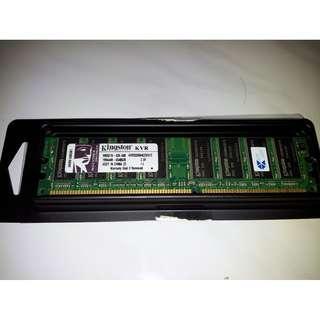Kingston Value RAM DDR333 512MB CL2.5 128-Pin DIMM SDRAM KVR333X64C25/512 for PC Desktop CPU Computer Memory