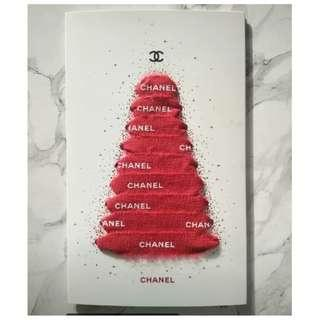 CHANEL Christmas Cards, Greeting Cards, X'mas Cards 1 set of 2pcs