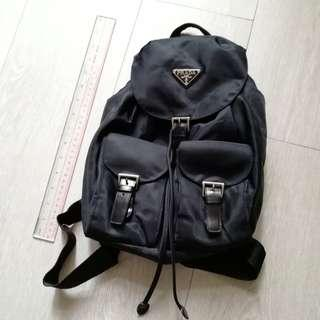 black backpack small size