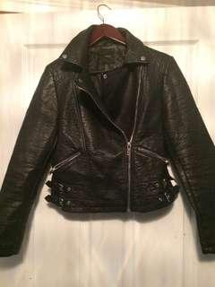 Ladies forever 21 leather jacket