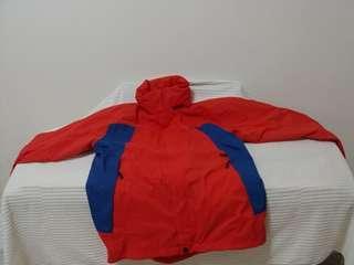 Timberland waterproof, windproof hooded jacket