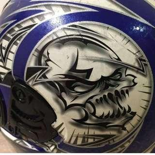 Full-face motorcycle helmet 全罩機車安全帽