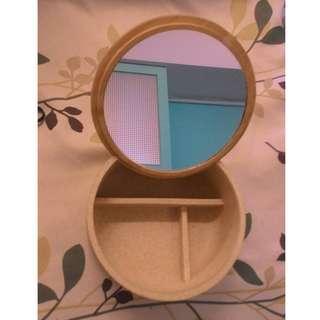 魔鏡啊魔鏡可立可蓋首飾收納置物盒