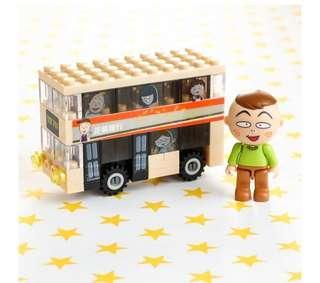 只交換-限量版交通工具小情景-巴士