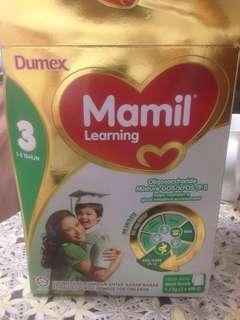 #MY1212 susu Murah Dumex Mamil  Learning (1-3tahun)