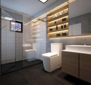 Toilet renovation package