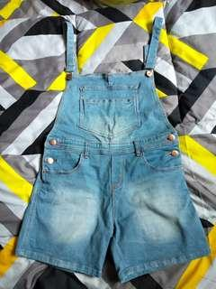 Overall pants jeans