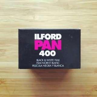 ilford pan 400 (ready stock)