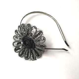 Beaded sequin headband #MY1212