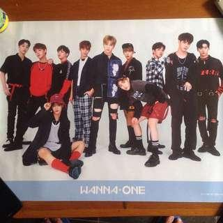 Official poster - wannaone to be one