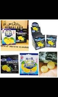 🚚 馬來西亞🇲🇾玫瑰檸檬鹽糖(15g*12小包)