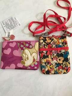 Disney land minnie Mickey Mouse pouch