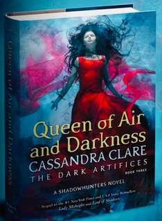 [Signed Bookplate] Queen of Air and Darkness (Exclusive First Edition) - Cassandra Clare (PO Listing)