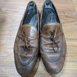Men Todd's leather shoes