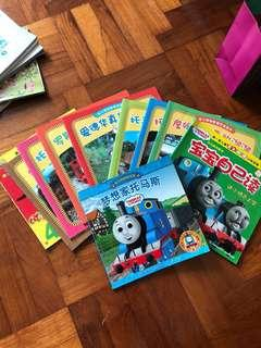 Thomas & Friends Books In Chinese 9 books plus 1 Toy Story