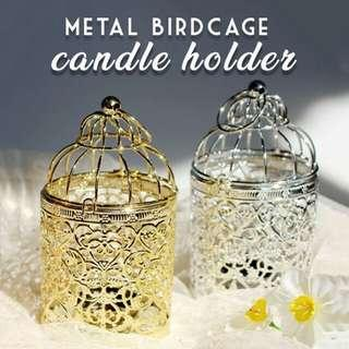 METAL BIRDCAGE CANDLE HOLDER #MY1212