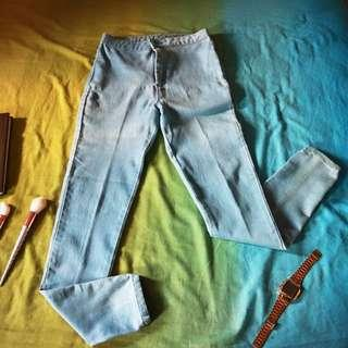 BENCH Overhauled Skinny Jeans