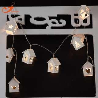 Bird House String Light
