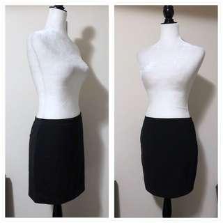 Aritzia T Babaton 4 Black Pencil Skirt