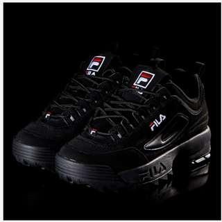 Fila 靚款波鞋 (黑色)