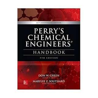 Perry's ChE Handbook 9th Edition