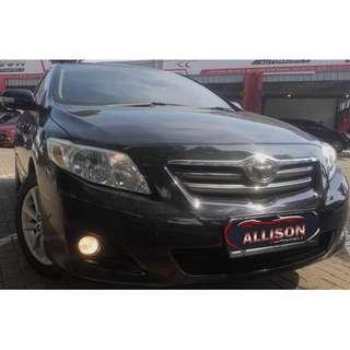 Toyota ALTIS G 1.8 AT 2010 Istimewa, Hitam  Dp 15,9 Jt