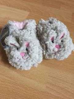 全新毛毛兔仔鞋
